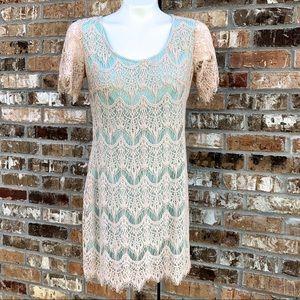 CHELSEA & VIOLET Lace Dress. Size S